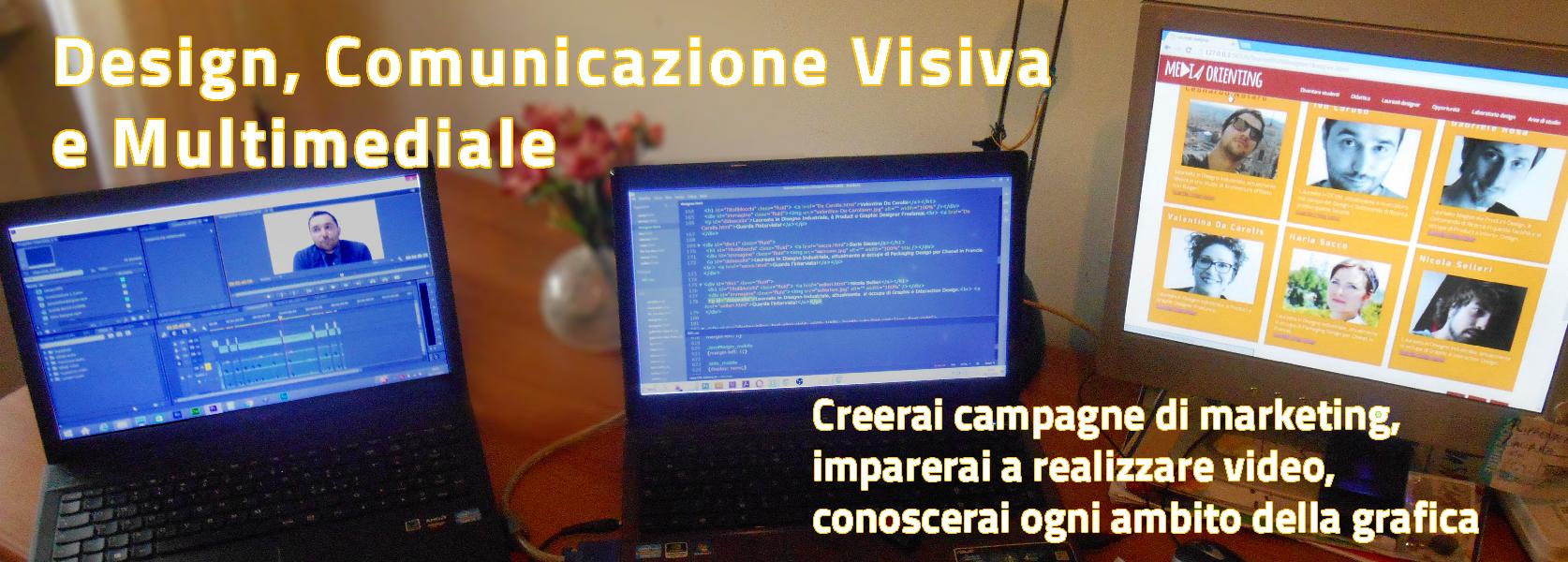 Design, Comunicazione Visiva e Multimediale